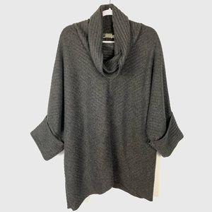 Habitat | Dark Gray Cowl Neck Oversized Sweater